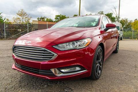 2018 Ford Fusion for sale in Glen Burnie, MD