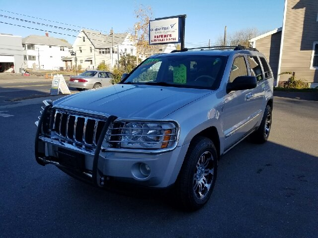 2006 Jeep Grand Cherokee Limited 4dr SUV 4WD w/ Front Side Airbags - Indian Orchard MA