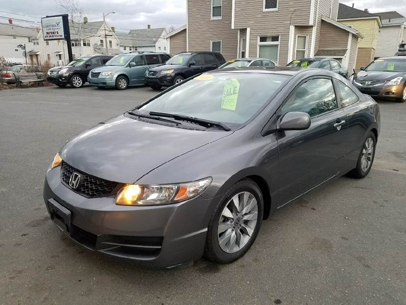2010 Honda Civic for sale at Pafumi Auto Sales in Indian Orchard MA