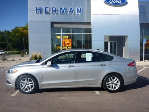2014 Ford Fusion for sale in Luverne, MN