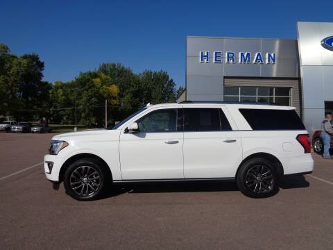 2020 Ford Expedition MAX for sale at Herman Motors in Luverne MN