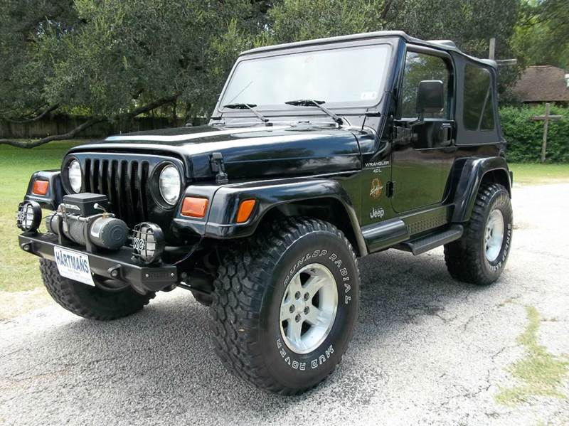 1998 Jeep Wrangler for sale at Hartman's Auto Sales in Victoria TX