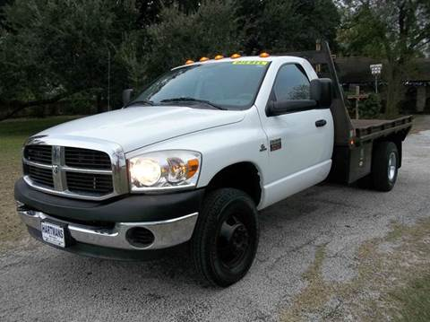 2007 Dodge 3500 HD for sale at Hartman's Auto Sales in Victoria TX
