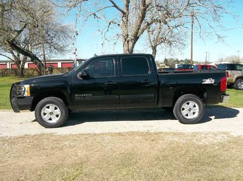 2012 Chevrolet Silverado 1500 for sale at Hartman's Auto Sales in Victoria TX