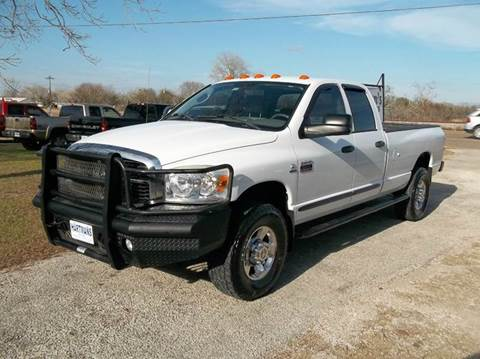 2007 Dodge Ram Pickup 2500 for sale at Hartman's Auto Sales in Victoria TX
