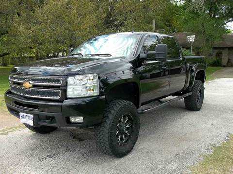 2013 Chevrolet Silverado 1500 for sale at Hartman's Auto Sales in Victoria TX