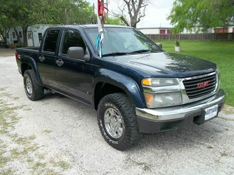 2007 GMC Canyon for sale at Hartman's Auto Sales in Victoria TX
