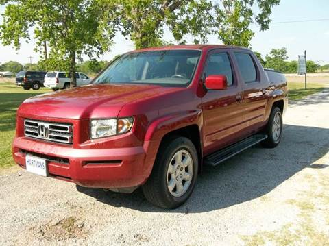 2006 Honda Ridgeline for sale at Hartman's Auto Sales in Victoria TX