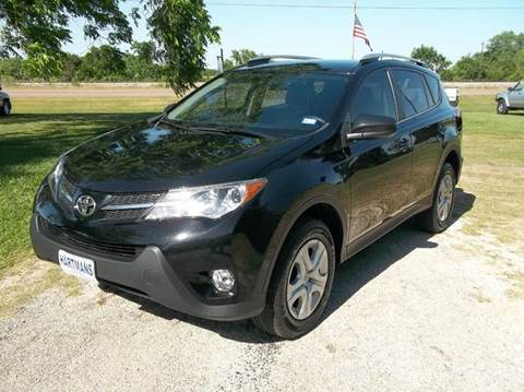 2013 Toyota RAV4 for sale at Hartman's Auto Sales in Victoria TX