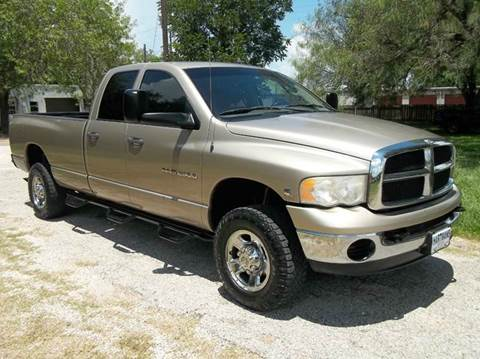 2004 Dodge Ram Pickup 2500 for sale at Hartman's Auto Sales in Victoria TX