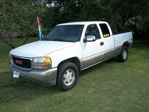 2000 GMC Sierra 1500 for sale at Hartman's Auto Sales in Victoria TX
