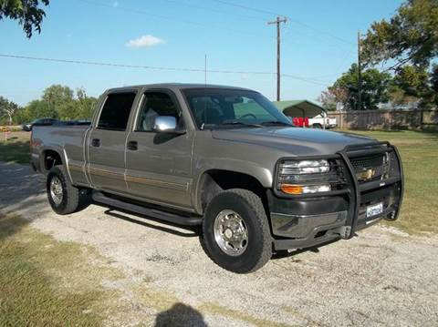 2002 Chevrolet Silverado 2500HD for sale at Hartman's Auto Sales in Victoria TX
