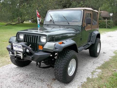 1995 Jeep Wrangler for sale at Hartman's Auto Sales in Victoria TX