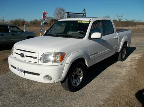 2006 Toyota Tundra for sale at Hartman's Auto Sales in Victoria TX