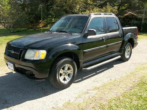 2005 Ford Explorer Sport Trac for sale at Hartman's Auto Sales in Victoria TX