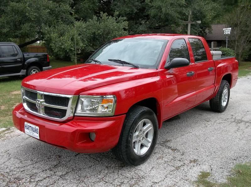 2008 Dodge Dakota for sale at Hartman's Auto Sales in Victoria TX