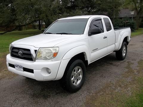 2005 Toyota Tacoma for sale at Hartman's Auto Sales in Victoria TX