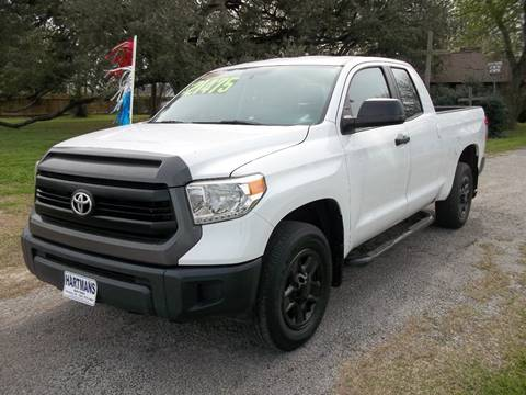 2014 Toyota Tundra for sale at Hartman's Auto Sales in Victoria TX