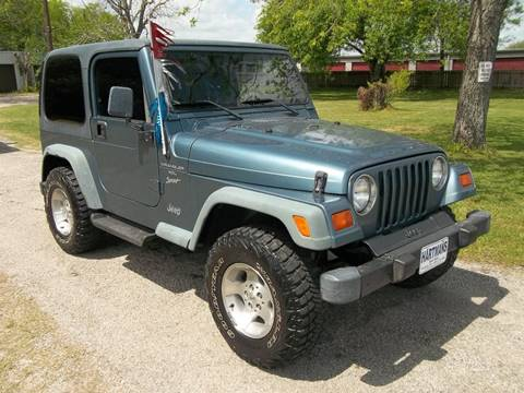 1999 Jeep Wrangler for sale at Hartman's Auto Sales in Victoria TX