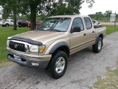 2001 Toyota Tacoma for sale at Hartman's Auto Sales in Victoria TX