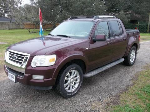 2007 Ford Explorer Sport Trac for sale at Hartman's Auto Sales in Victoria TX