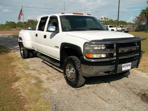 2001 Chevrolet Silverado 3500 for sale at Hartman's Auto Sales in Victoria TX