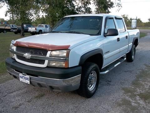 2003 Chevrolet Silverado 2500HD for sale at Hartman's Auto Sales in Victoria TX