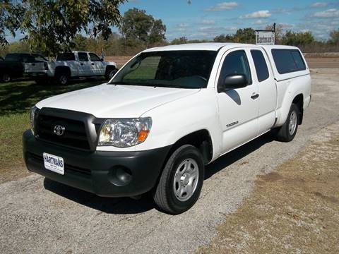 2008 Toyota Tacoma for sale at Hartman's Auto Sales in Victoria TX