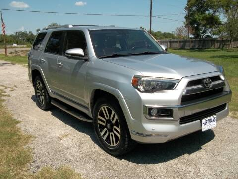2015 Toyota 4Runner for sale at Hartman's Auto Sales in Victoria TX