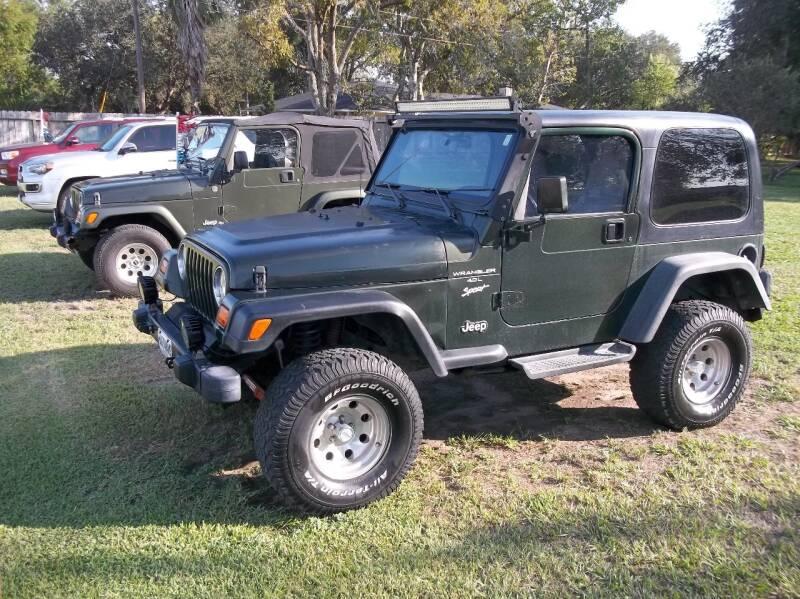 1997 Jeep Wrangler for sale at Hartman's Auto Sales in Victoria TX