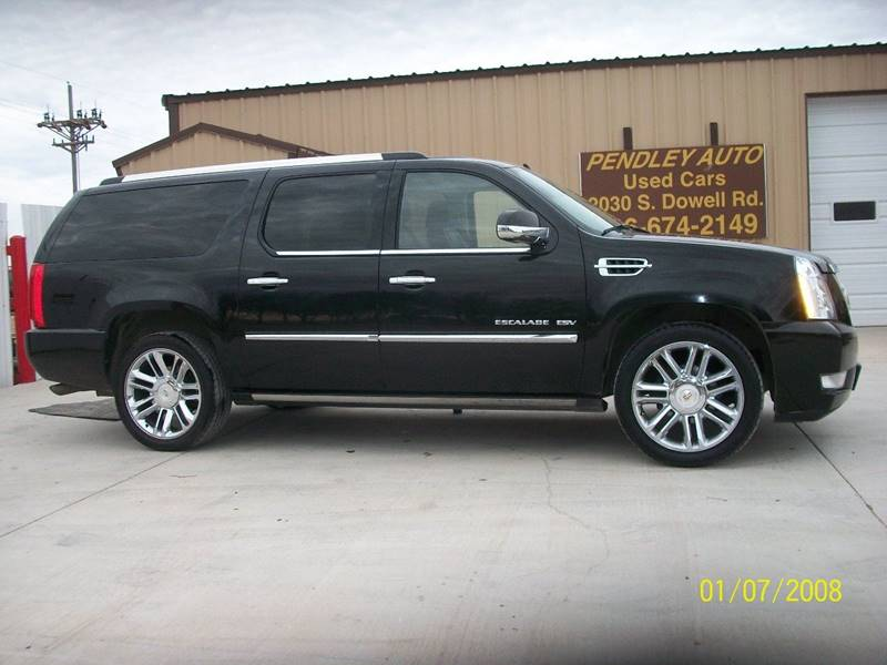 2011 cadillac escalade esv awd platinum edition 4dr suv in amarillo tx pendley auto. Black Bedroom Furniture Sets. Home Design Ideas
