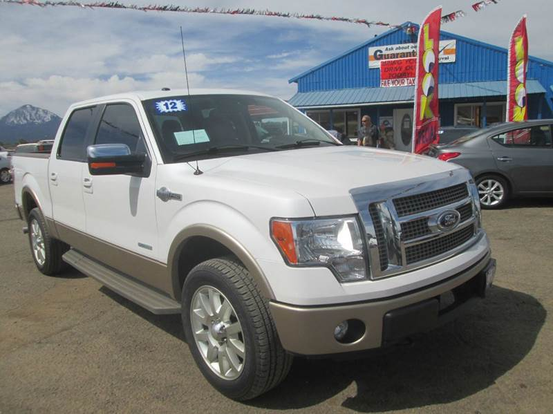 2012 Ford F-150 4x4 King Ranch 4dr SuperCrew Styleside 5.5 ft. SB - Cortez CO