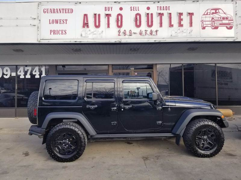 2013 Jeep Wrangler Unlimited 4x4 Moab 4dr Suv In Des Moines Ia