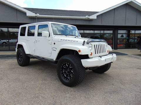 2010 Jeep Wrangler Unlimited for sale at Boondox Motorsports in Caledonia MI
