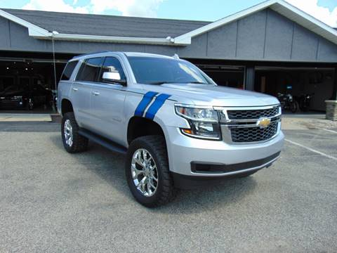 2015 Chevrolet Tahoe for sale at Boondox Motorsports in Caledonia MI