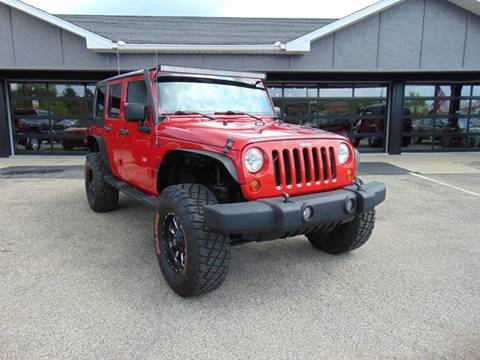 2009 Jeep Wrangler Unlimited for sale at Boondox Motorsports in Caledonia MI
