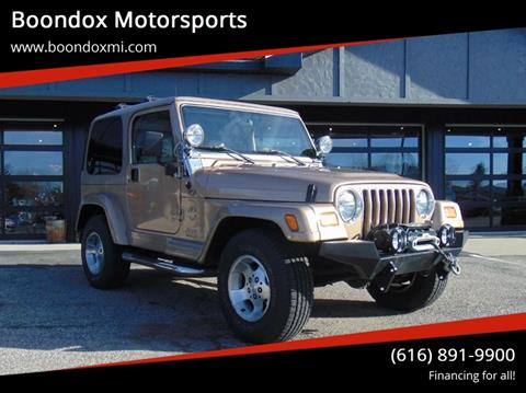 2000 Jeep Wrangler for sale in Caledonia, MI