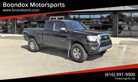2013 Toyota Tacoma for sale in Caledonia, MI