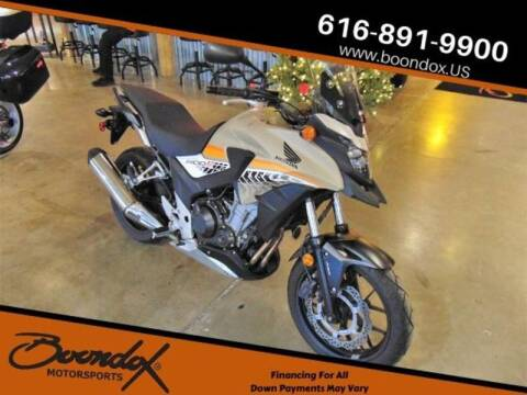 2016 Honda CB500X ABS for sale at Boondox Motorsports in Caledonia MI