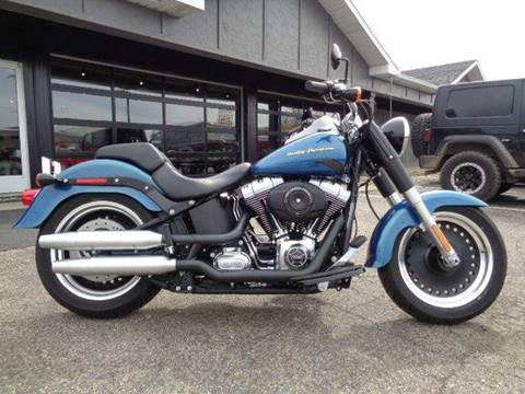 2014 Harley-Davidson Fat Boy for sale at Boondox Motorsports in Caledonia MI