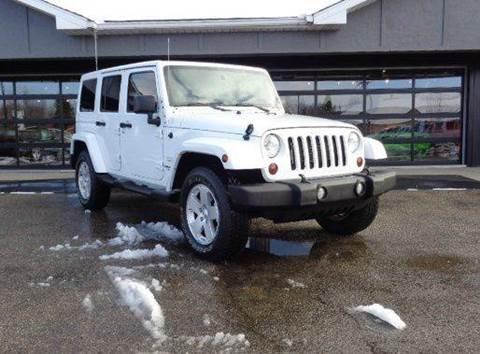 2012 Jeep Wrangler Unlimited for sale at Boondox Motorsports in Caledonia MI