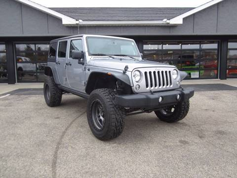 2014 Jeep Wrangler Unlimited for sale at Boondox Motorsports in Caledonia MI