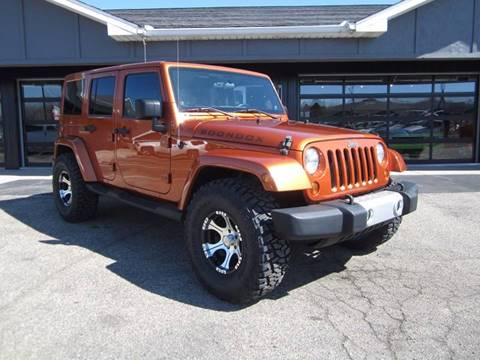 2011 Jeep Wrangler Unlimited for sale at Boondox Motorsports in Caledonia MI
