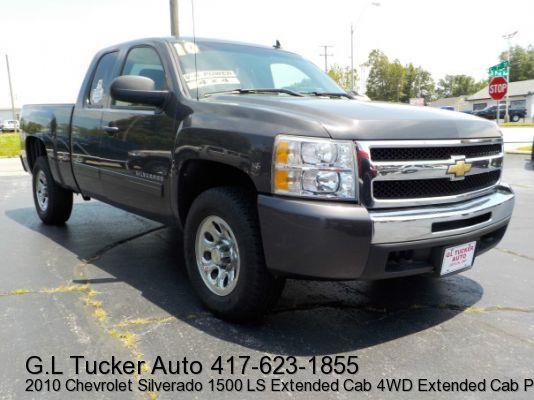 2010 Chevrolet Silverado 1500 for sale at G L TUCKER AUTO SALES in Joplin MO