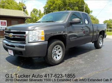 2010 Chevrolet Silverado 1500 for sale at G L TUCKER AUTO SALES in Joplin MO