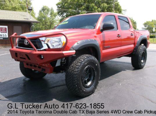 2014 Toyota Tacoma for sale at G L TUCKER AUTO SALES in Joplin MO
