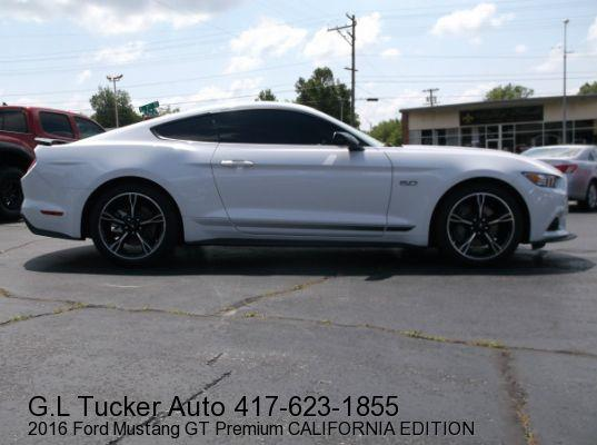 2016 Ford Mustang for sale at G L TUCKER AUTO SALES in Joplin MO