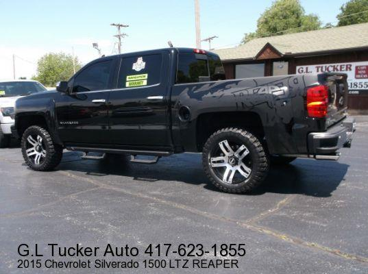 2015 Chevrolet Silverado 1500 for sale at G L TUCKER AUTO SALES in Joplin MO