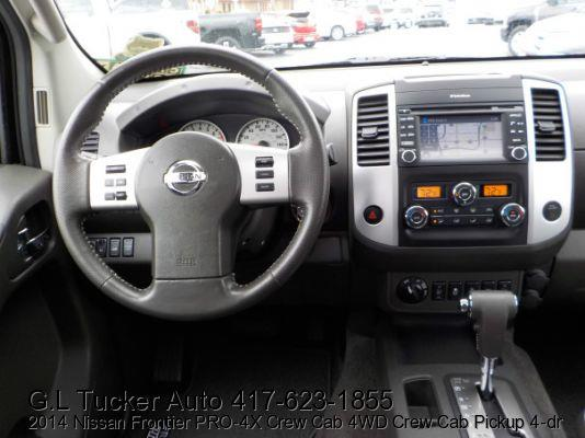 2014 Nissan Frontier for sale at G L TUCKER AUTO SALES in Joplin MO