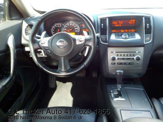 2010 Nissan Maxima for sale at G L TUCKER AUTO SALES in Joplin MO